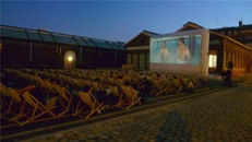 Projection en plein-air